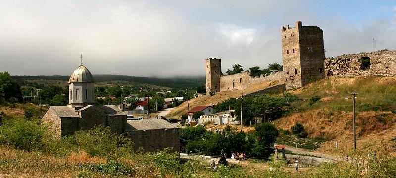 Достопримечательности Феодосии: Генуэзская крепость Кафа