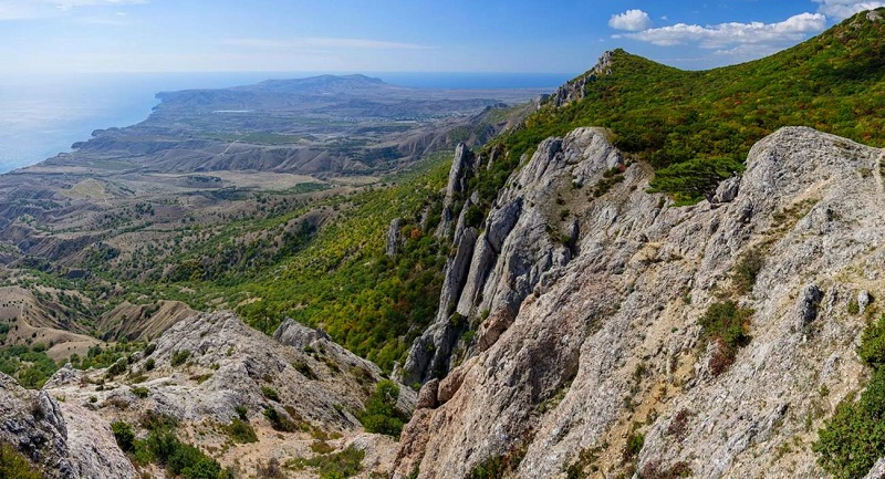 Достопримечательности Феодосии: Гора Эчки-Даг