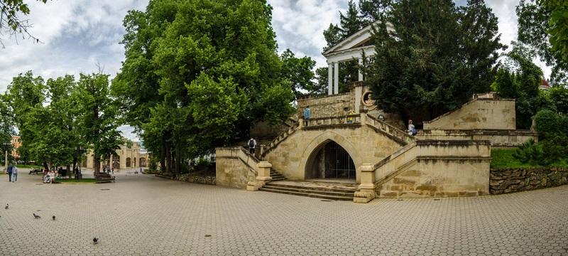 Достопримечательности Кисловодска: Лермонтовская площадка