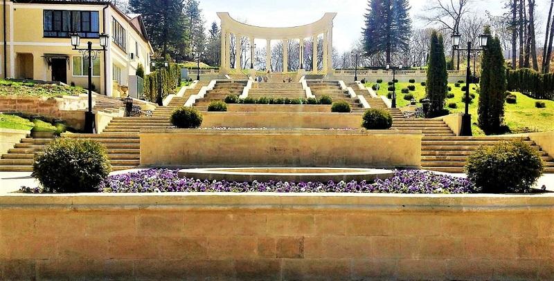 Достопримечательности Кисловодска: Каскадная лестница