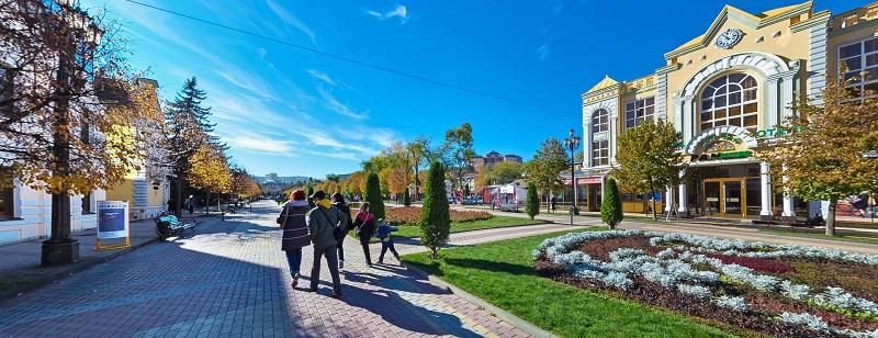 Достопримечательности Кисловодска: Курортный бульвар